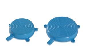 DURAN® Silicone lid, set XL/XXL, cyan