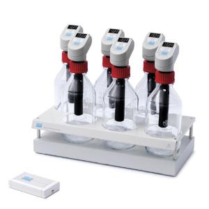 RESPIROMETRIC Sensor System MAXI, designed for anaerobic respiration studies, such as the Biochemical Methane Potential (BMP) of biomass