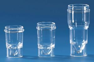 Sample cups for Technicon®-Analyser