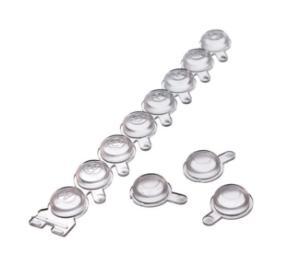 Individual storage plate caps
