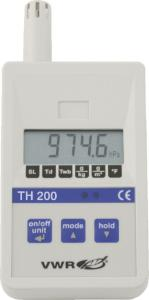 Thermo-hygrometer with barometer