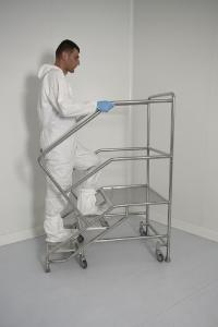 Mobile platforms for cleanrooms
