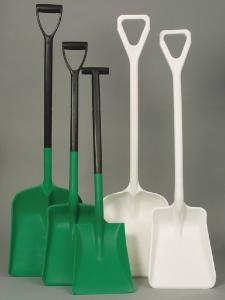 2-part shovel for foodstuff